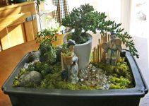 Cómo crear un jardín de platos de bonsái